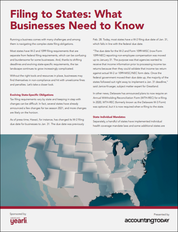 Filing to states: What businesses need to know